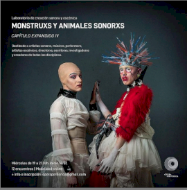 Monstruxs y Animales Sonorxs